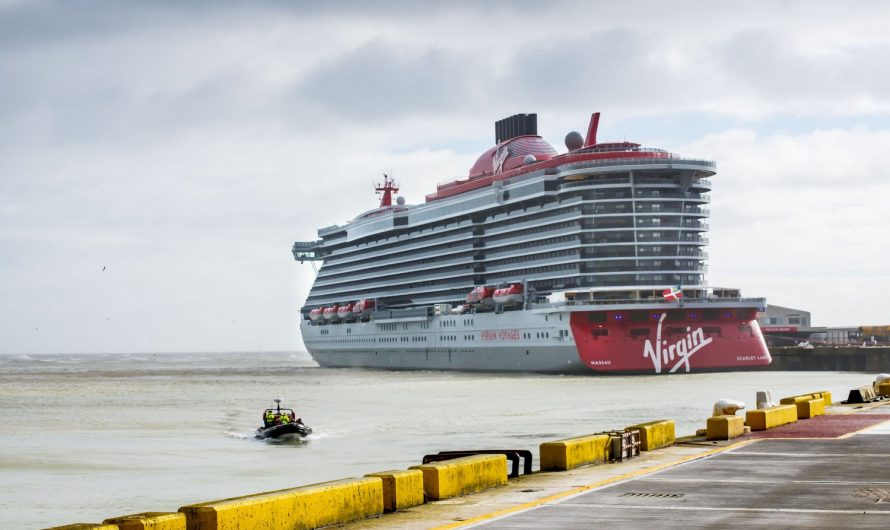 Virgin Voyages' First Ship Launched in Dover