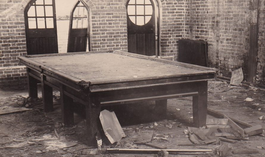 War Damage to Snooker Room