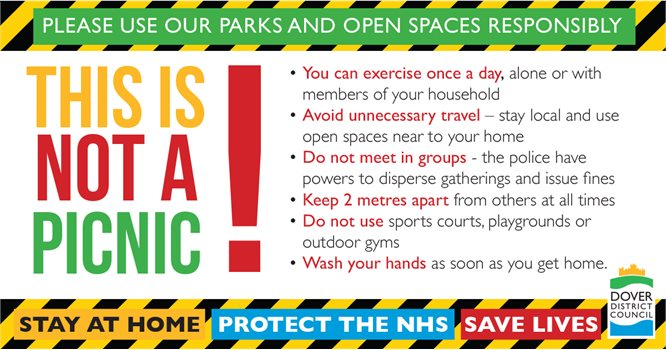"""This is no picnic!"" Council urges responsible use of parks and open spaces"